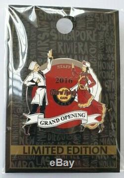 Hard Rock Cafe Baku Grand Opening Staff Pin Le