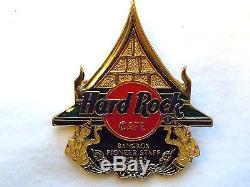 Hard Rock Cafe Bangkok Pioneer 9 Year STAFF'00 Pin LE 25 Pins