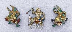 Hard Rock Cafe Bangkok Ramayana Series Pin set 2 4 (9 pins) 2019 LE200