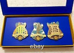 Hard Rock Cafe Barcelona 20th Anniversary Set (3 pins)