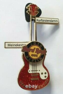 Hard Rock Cafe Berlin Grand Opening Party Pin Guitar Le 250