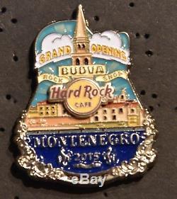 Hard Rock Cafe Budva Grand Opening Staff pin