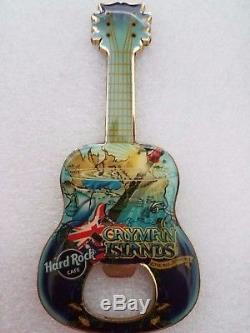 Hard Rock Cafe CAYMAN ISLANDS Bottle Opener MAGNET V7 HTF (Rare)