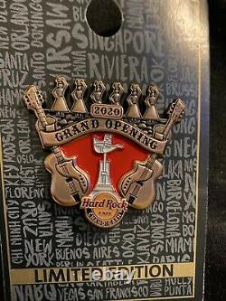 Hard Rock Cafe CHANDIGARH Grand Opening Pin! NEU und UNGETRAGEN