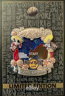 Hard Rock Cafe Cabo San Lucas Grand Opening Staff Pin Mexico Team Hrc