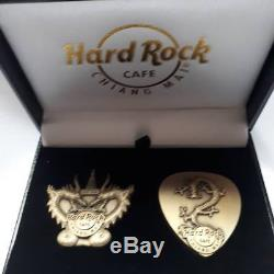 Hard Rock Cafe Chiang mai Thai Land DRAGON Pin Box set 2018 Limited Edition