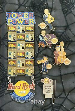Hard Rock Cafe Chicago Opening + Party + Opening Staff Pins Amazing