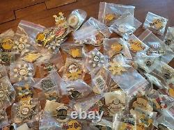 Hard Rock Cafe Collection Of 200+ Hard Rock Cafe Pins Guitars Keychains