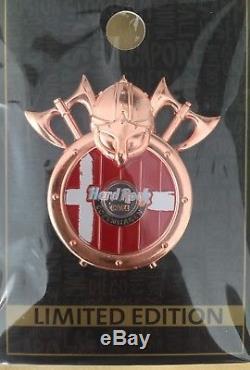 Hard Rock Cafe Copenhagen Shield Viking Axe Series Pin