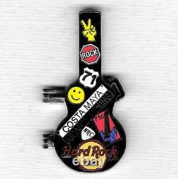 Hard Rock Cafe Costa Maya 2009 Grand Opening Staff Guitar (#63231)