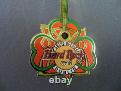 Hard Rock Cafe Dublin 2004 Grand Opening Ireland Shamrock HRC Pin (Sold out)