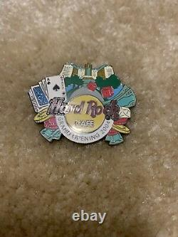 Hard Rock Cafe Foxwoods Casino 04 Grand Opening Staff Pin Limited Edition Rare