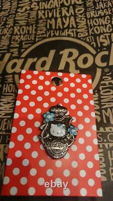 Hard Rock Cafe Fukuoka JAPAN Hello Kitty PIN Not for sale seal HRC Set of 5