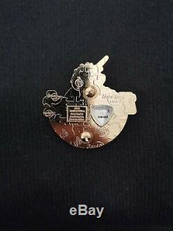Hard Rock Cafe Glasgow Global Logo Series Pin Very Rare