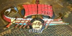 Hard Rock Cafe Glyfada Grand Opening G. O Ancient Warrior Ship 2010 Pin
