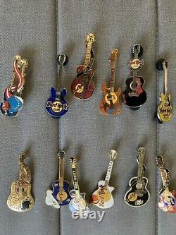 Hard Rock Cafe Guitar Collection