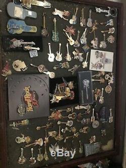 Hard Rock Cafe Guitar Pins