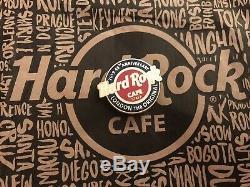 Hard Rock Cafe HRC LONDON 48th ANNIVERSARY Lapel Pin NEW Neu STAFF