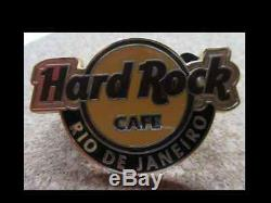 Hard Rock Cafe- HRC Rio de Janeiro Classic Logo Pin