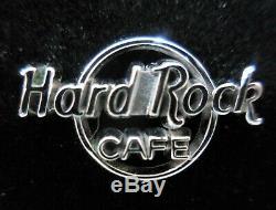 Hard Rock Cafe HRI STAFF Mini Sterling Silver Logo Pin Robbins Award