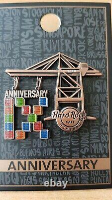 Hard Rock Cafe Hamburg 9th Anniversary Staff Pin Team Cafe 2020