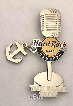 Hard Rock Cafe Hamburg Grand Opening Staff Pin