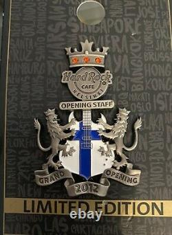 Hard Rock Cafe Helsinki Grand Opening Staff Pin