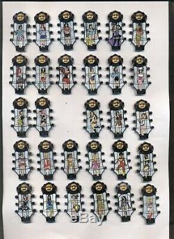 Hard Rock Cafe & Hotel Go Go Girls Series 2014 115 Pins