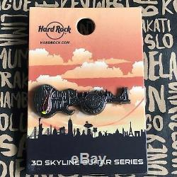 Hard Rock Cafe ISTANBUL CLOSED 3D Skyline Guitar Series 16 Pin LE 200