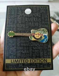 Hard Rock Cafe Iguazu Grand Opening Pin The Never Opened Cafe Only One