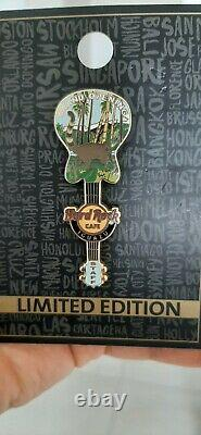 Hard Rock Cafe Iguazu Grand Opening Staff Pin Le100 USA Shipping