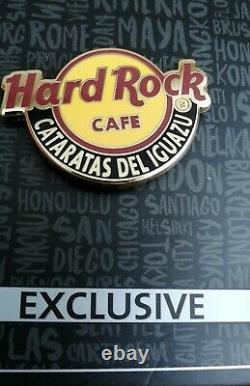 Hard Rock Cafe Iguazu Logo Pin The Never Opened Cafe Last Pin