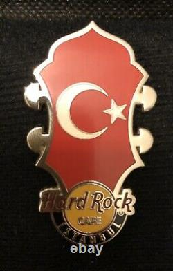 Hard Rock Cafe Istanbul (Closed Cafe) Pin Core Head Stock Flag Series New