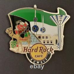 Hard Rock Cafe KUWAIT Alternative City Logo Magnet (no Bottle opener)