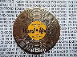Hard Rock Cafe Kuala Lumpur Grand Opening HTF Golden Record Disk (No Pin)