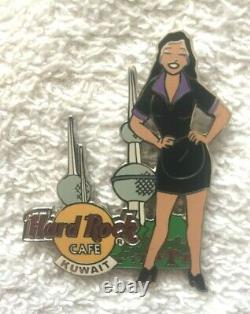 Hard Rock Cafe Kuwait 2004 Girl Of Rock Series Pin Kuwait Towers Le 500