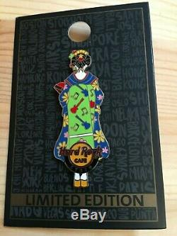 Hard Rock Cafe Kyoto Store set of Maiko Pin Badge 5pc`s limited edition
