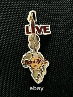 Hard Rock Cafe LONDON 2005 LIVE 8 CONCERT Staff (Only) Africa Map Pin Badge LE