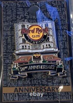 Hard Rock Cafe LONDON 2021 50 Years Facade PIN 50th Anniversary LE 300! #695104