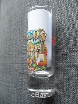 Hard Rock Cafe Lagos Nigeria City T-Shirt Shot Glass Cordial HRC Glassware