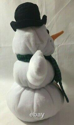 Hard Rock Cafe Las Vegas 2001 Holiday Snowman Bear Limited Edition Plush