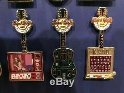 Hard Rock Cafe Las Vegas 2009 Gaming Guitar Complete set of 12 Ltd 300 pcs HRC