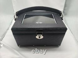 Hard Rock Cafe Leather Pin Carrying/display Case With Drawers - New