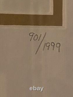 Hard Rock Cafe Lmt Edition Calendar Girl Frame 901/1999