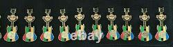 Hard Rock Cafe London 2012 Set Of Olympic Guitar Pins Brand New In Bag Sport