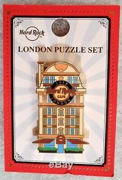 Hard Rock Cafe London 2019 Facades 3 Pin Puzzle Set # 507902 # 507903 & # 505050