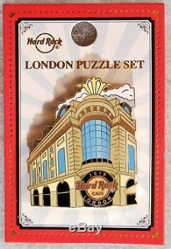 Hard Rock Cafe London Facades Three Pin Puzzle Set # 507902 # 507903 & # 505050