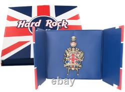 Hard Rock Cafe London Piccadilly Grand Opening Jumbo Guitar Pin Boxed