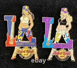 Hard Rock Cafe Los Angeles Grand Opening + Opening Staff Pins Sexy