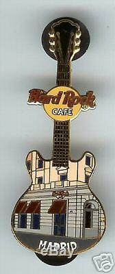 Hard Rock Cafe MADRID, Facade Series Pin. Rare